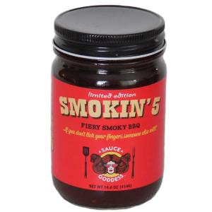Smokin 5 Sauce jar