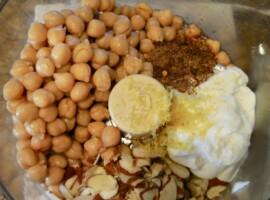 Exotic Moroccan Almond Hummus